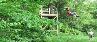 How To Build A Backyard Zip Line by All About Backyard Zip Lines