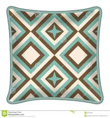 photo collection brown and mint geometric
