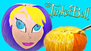 how to make disney tinkerbell from pumpkins fun fall diy kids