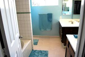 bathroom simple bathroom paint color with blue wall idea best