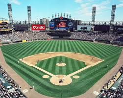 us cellular field view behind home plate chicago white sox