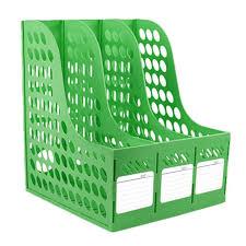 etagere classeur pour bureau boîte de rangement bureau classement papier a4 dossiers étagère de 3