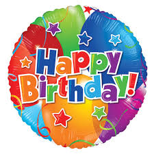 birthday balloons bulk happy birthday foil balloons at dollartree