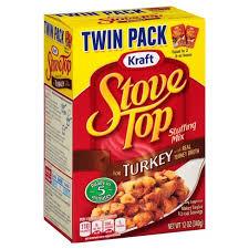 stove top dressing kraft stove top mix turkey pack 12 oz target