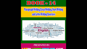 book 14 paragraph writing essay writing story writing and