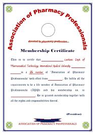 pharmacy technician certificate template certificate templates