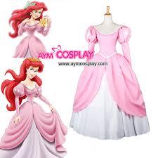 Princess Ariel Halloween Costume Disney Princess Ariel Dress Movie Costume Cosplay Tailor