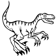 velociraptor coloring pages velociraptor coloring pages archives