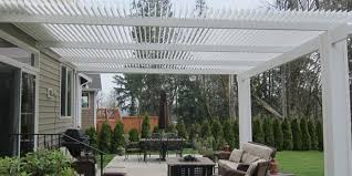 Transparent Patio Roof American Louvered Roofs Of Western Washington Patio Covers