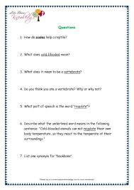 comprehensions for grade 3 ages 7 9 worksheets passage 13