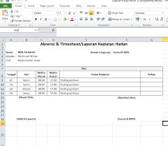 tips membuat jadwal kegiatan harian cara membuat laporan kerja harian pegawai pns update informasi