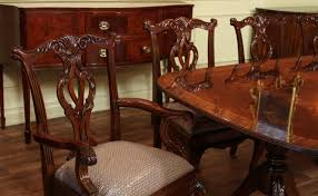 Chippendale Dining Room Furniture Dining Room Chairs Mahogany Home Decorating Interior Design Ideas