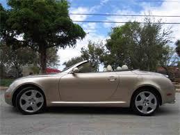 2005 lexus sc430 hardtop convertible 2005 lexus sc430 for sale classiccars com cc 1026670