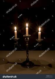 sabbath candles sabbath candles stock photo 867641