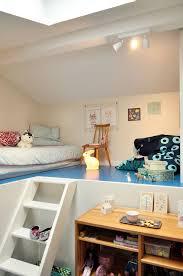 chambre e chambre enfant sous combles côté maison