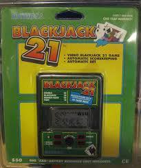 black jack 21 amazon com video blackjack 21 electronic handheld game vintage