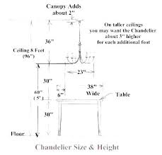 standard height of light over dining room table standard height of dining room table dining room table sizes dining