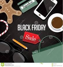 black friday free black friday shopping bag and sales tag flat design stock vector