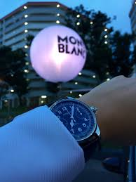 montblanc black and white week in singapore cocktail party