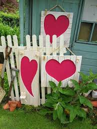 outdoor decorations outdoor decorating ideas with hearts for this valentines day