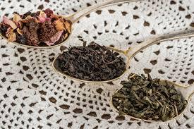 Teh Hitam daun teh hitam hijau buah 盞 foto gratis di pixabay