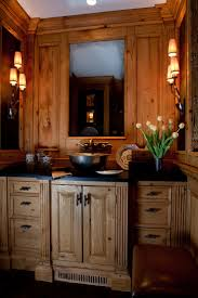 Cabin Bathrooms Ideas by 156 Best Rustic Bathrooms Images On Pinterest Bathroom Ideas