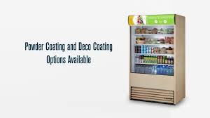 true air curtains gs vertical merchandising refrigerators to