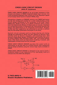 buy cmos logic circuit design book online at low prices in india