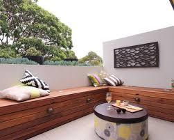 outdoor patio bench treenovation