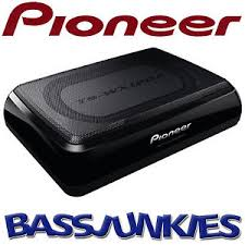 pioneer photo box pioneer ts wx120a 150 watts active underseat car sub box subwoofer