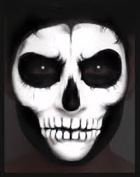 skull face paint makeup tutorial nk youtube