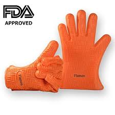 gant de cuisine anti chaleur flamen gant de cuisine 230 c pour le four bbq gant anti chaleur