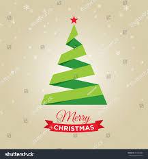 merry christmas card graphic christmas tree stock vector 214488880