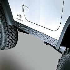 rugged ridge 11650 05 rocker side panels body armor 97 06