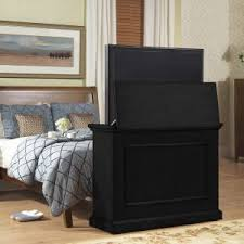 Touchstone Tv Lift Cabinet Furniture Conestoga Tv Lift Cabinet With Electric Fireplace Made