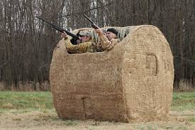 Redneck Hay Bale Blind Late Goose Season U2013 Frozen Fast And Furious The Blog Of The