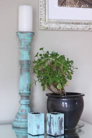 how to create green patina and what to do with the cornstarch in