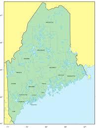 Map Maine Counties Map Of Maine U2022 Mapsof Net