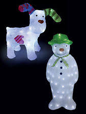Cheap Christmas Decorations Ebay by Light Up Christmas Decorations Ebay