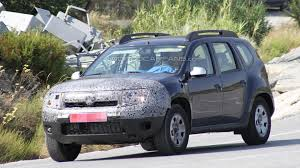 renault duster 2014 interior 2014 dacia duster facelift spied in southern europe