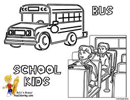 coloriage dessin bus enfant 9 dessin