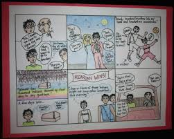 an alternate book report the comic strip report readers are