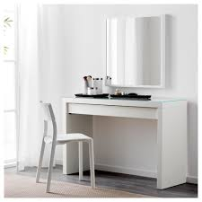 white table with drawers malm dressing table white 120x41 cm ikea