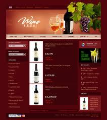 wine responsive zencart template 21001