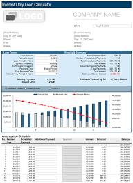 Amortization Calculator Excel Template Loan Amortization Schedule Free For Excel