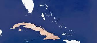 Cuban Map Cuba Cruise Vacations Royal Caribbean International