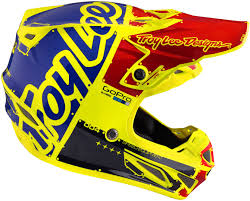 yellow motocross helmet troy lee designs se4 factory carbon yellow motocross helmets