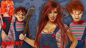 Chucky Costume Scary Costumes Scary Halloween Costume For Kids And Adults