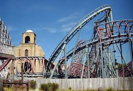 Six Flags Great Adventure Map Newsplusnotes A Blast From The Past Viper At Six Flags Great