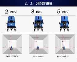 cheap wholesale kinzo laser cross line rotating self